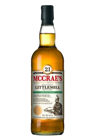 Whisky Mc Crae's Littlemill 26 years - Single Malt Single Cask - 56,50 % - 70 cl - Cask Strenght