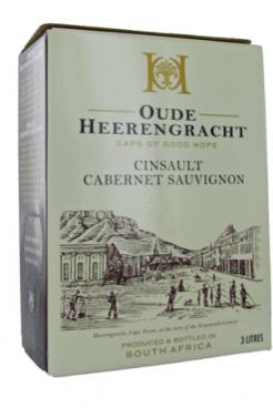 Oude Heerengracht Rood 3 liter BIB Cinsaut - Cabernet Sauvignon