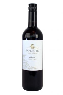Saporito Merlot & Raboso 2018 (sc)